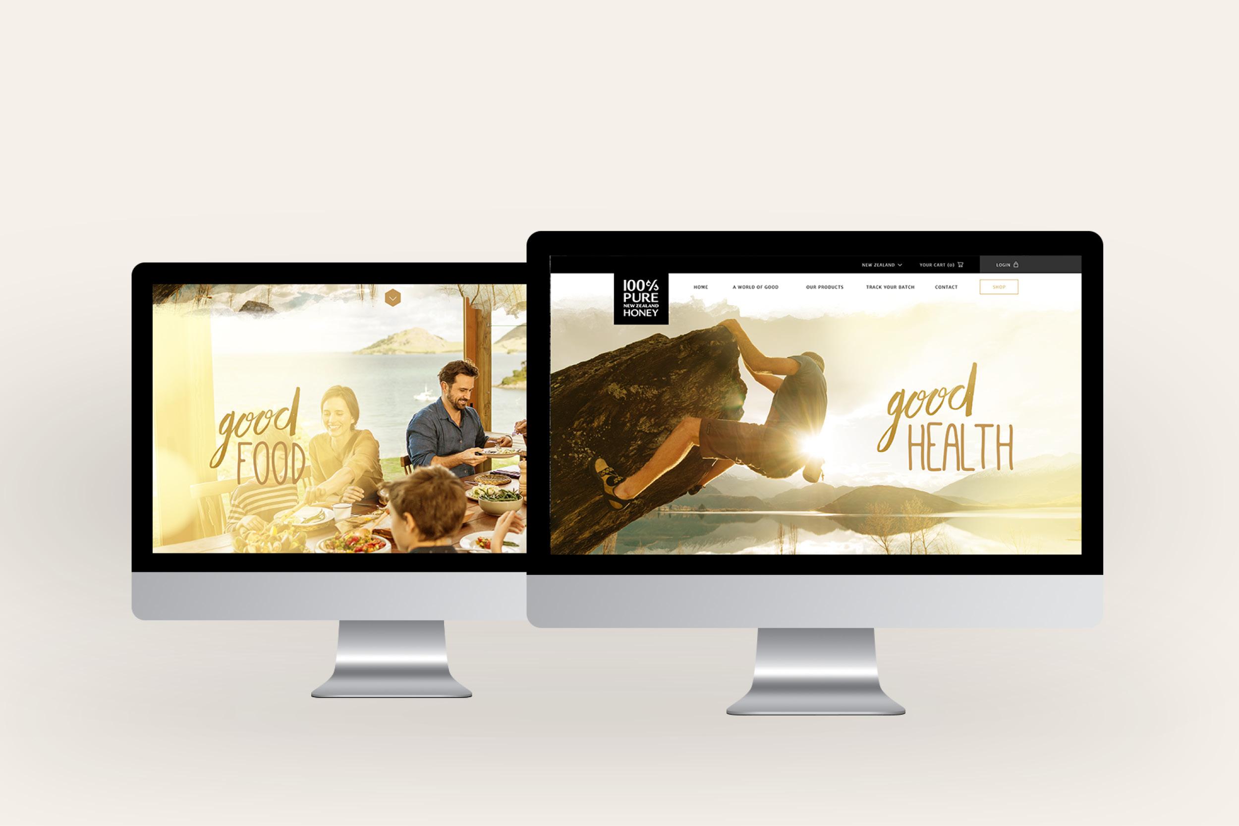 Honey website