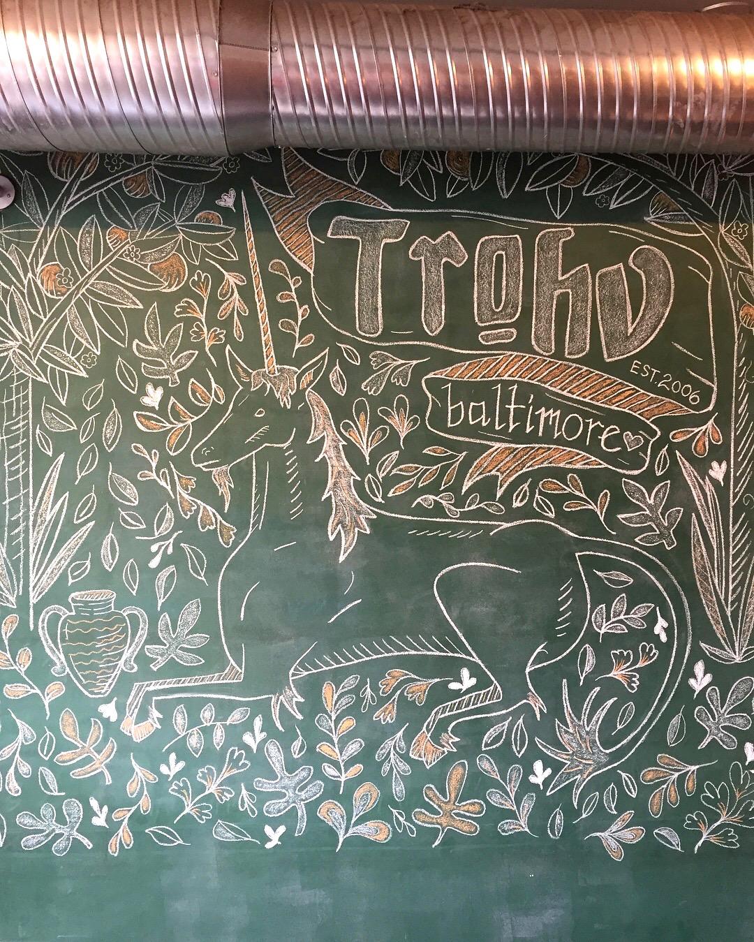 Trohv Chalk Wall
