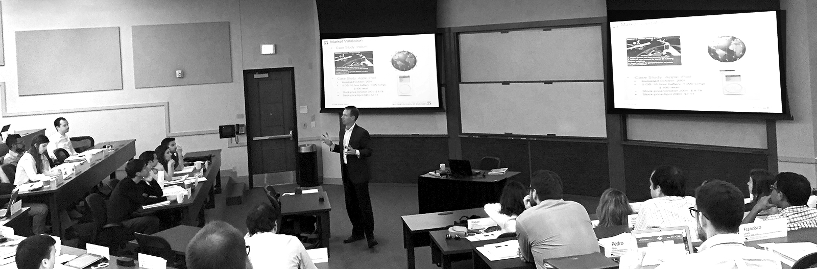 Dr. Rob Adams Market Valuation Conference at the University of Texas at Austin