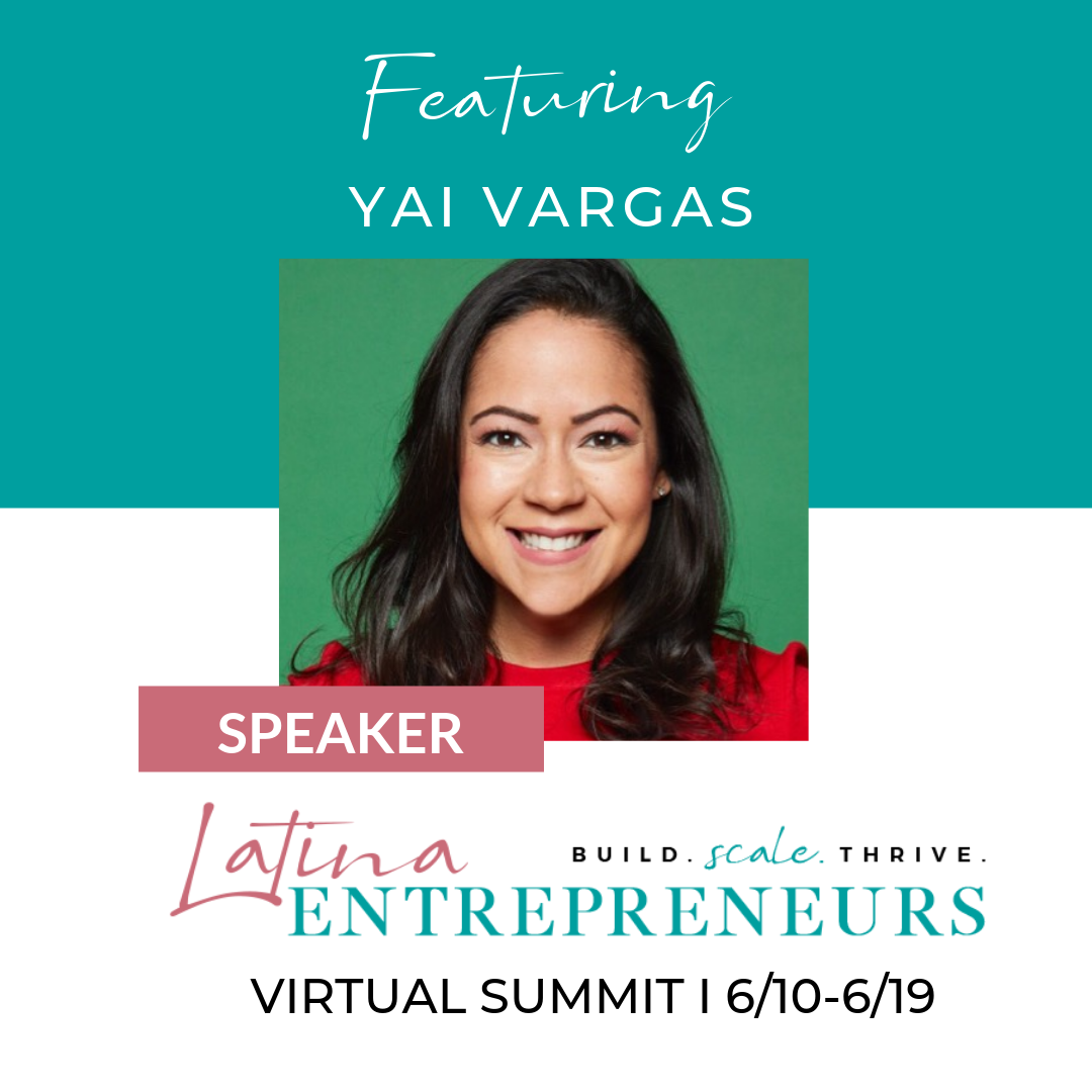 Latina Entrepreneurs Virtual Summit - The goal of Latina Entrepreneurs is to share resources, provide a platform for networking, and give you access to the leaders who will help you succeed with your business.10 Days. Live Q&A. Worksheets. Click here for more info and to register.