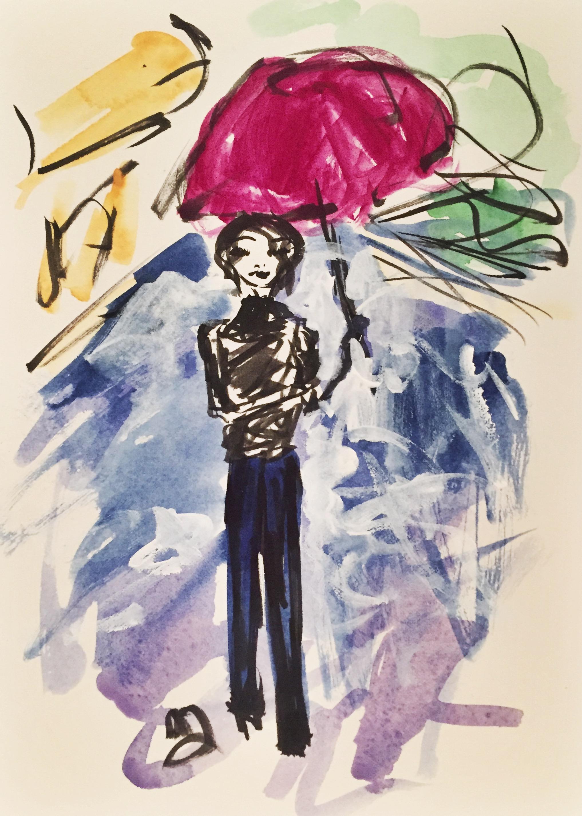 Paris Umbrella Figure 1
