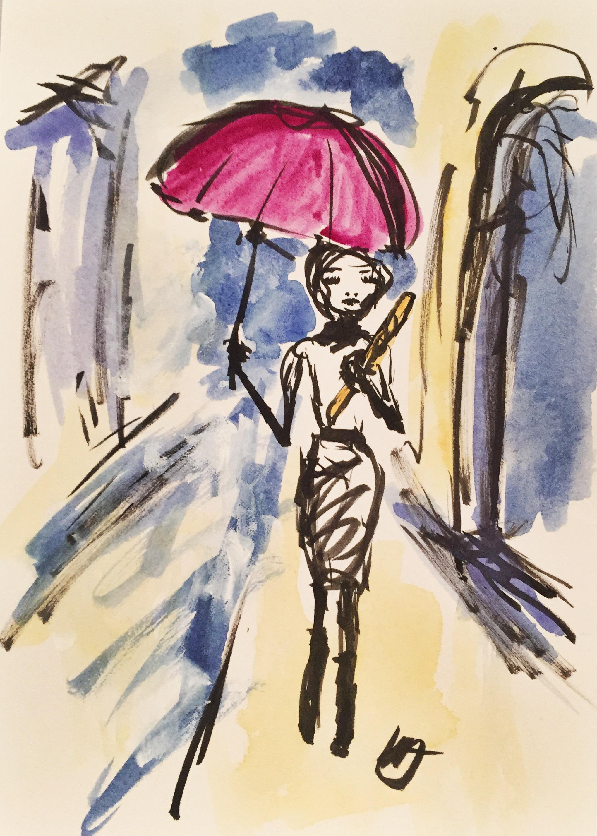 Paris Umbrella Figure 2