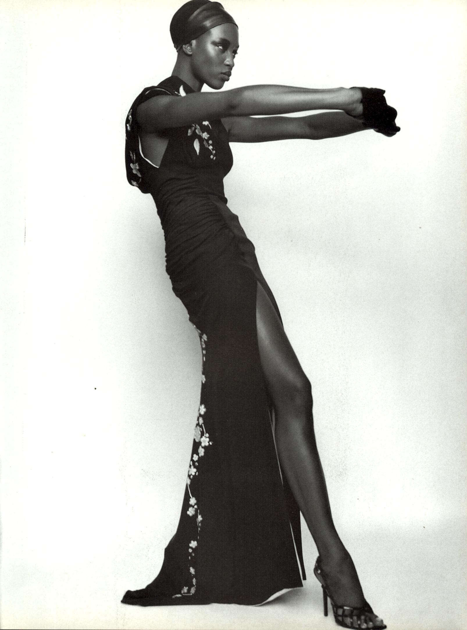 Naomi Campbell by Mario Testino for Versace, 1997