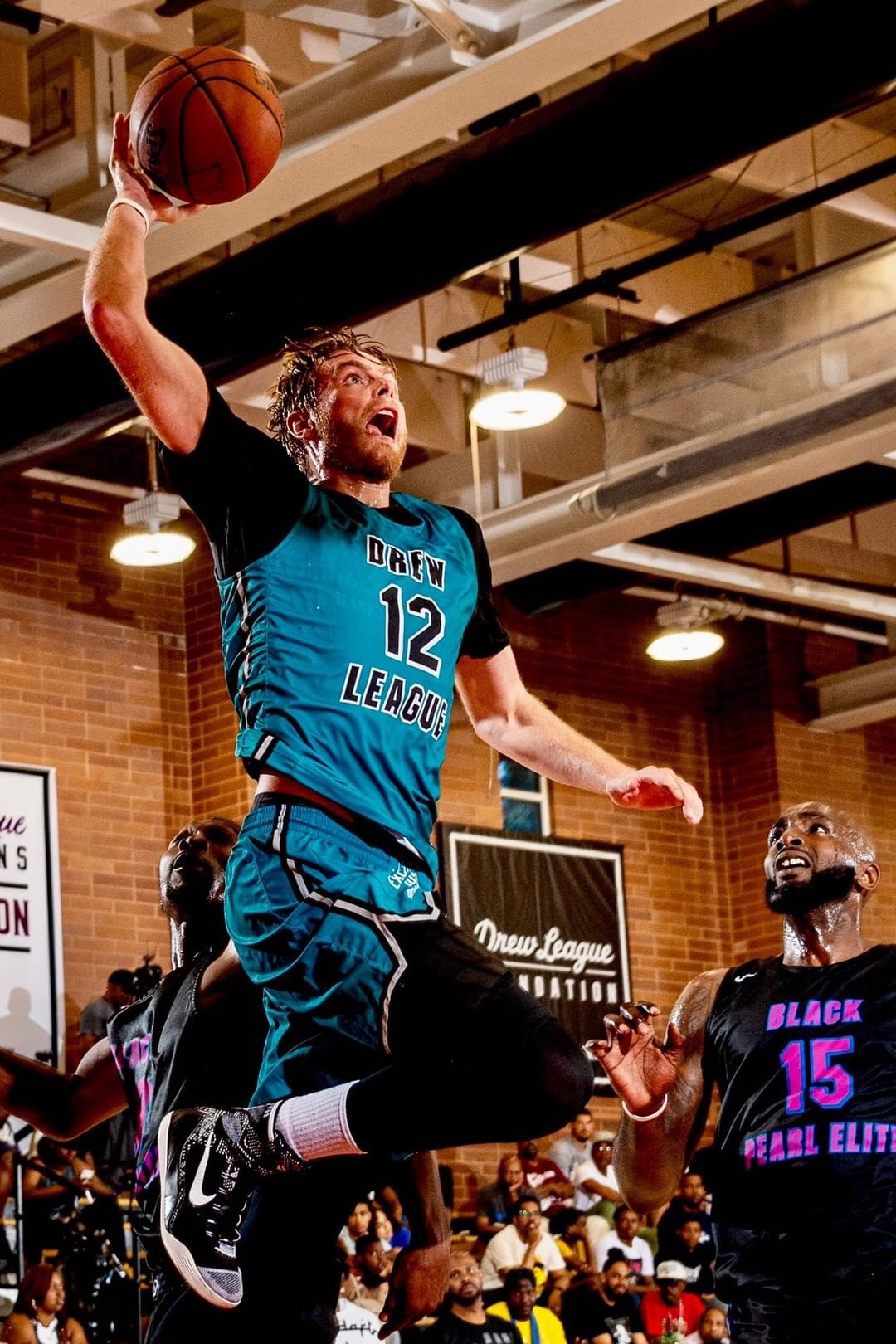 Justin Stommes Basketball Drew League 2019 Baxter Legacy, Los Angeles
