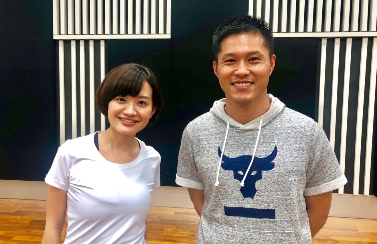 左:株式会社ニッポン放送 アナウンサー 新行市佳 右:コードブック株式会社 執行役員 山本周平