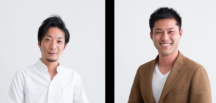 左:代表取締役 細野 貴文、右:執行役員 山本 周平