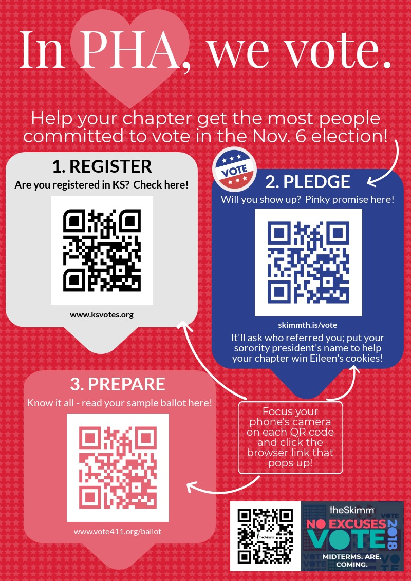 follow these easy steps to get your vote on. - Encourage your chapter members…a contest is coming!