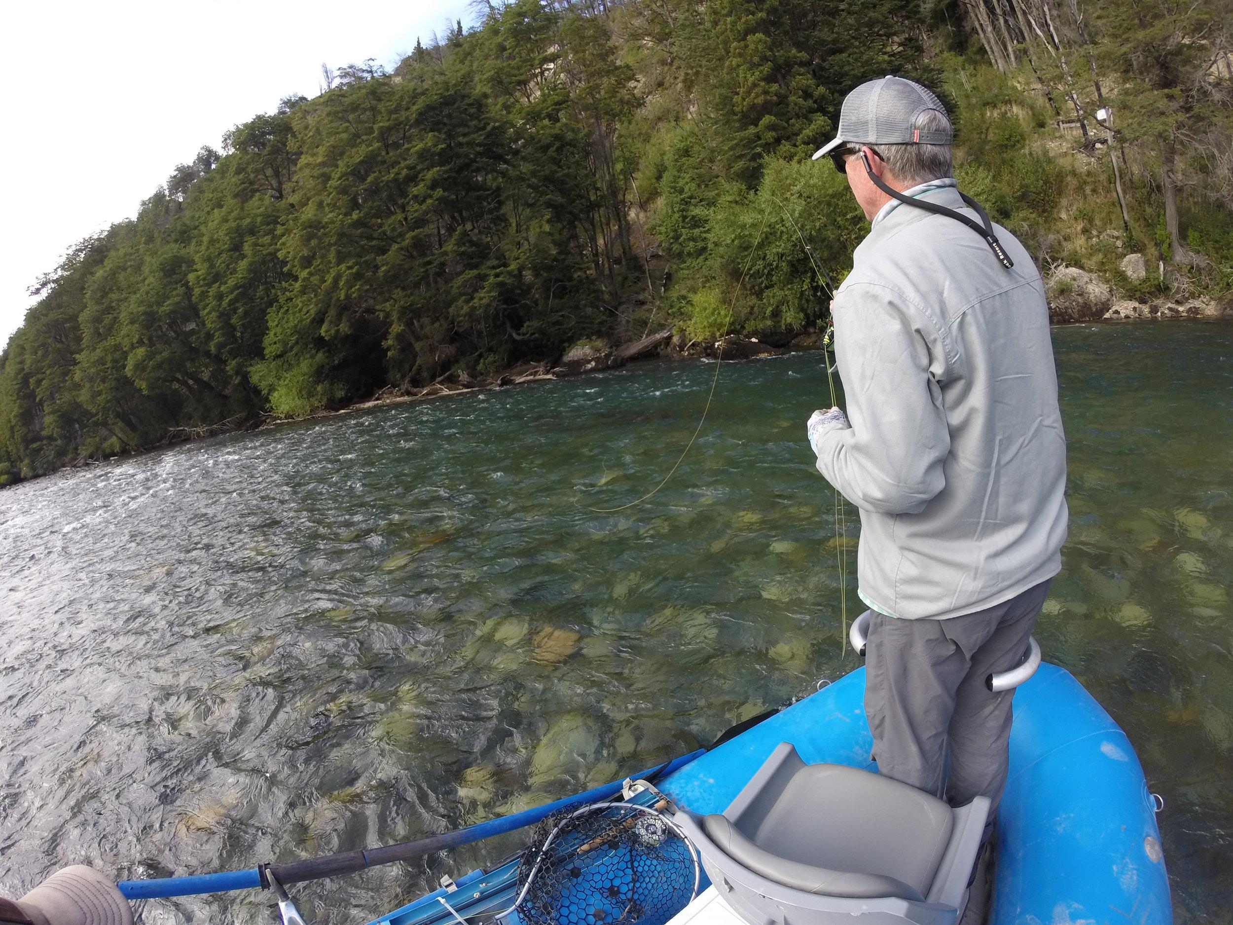 Futaleufu Fly Fishing Guide | Yelcho Fly Fishing Guide | Patagonia Fly Fishing Guide |