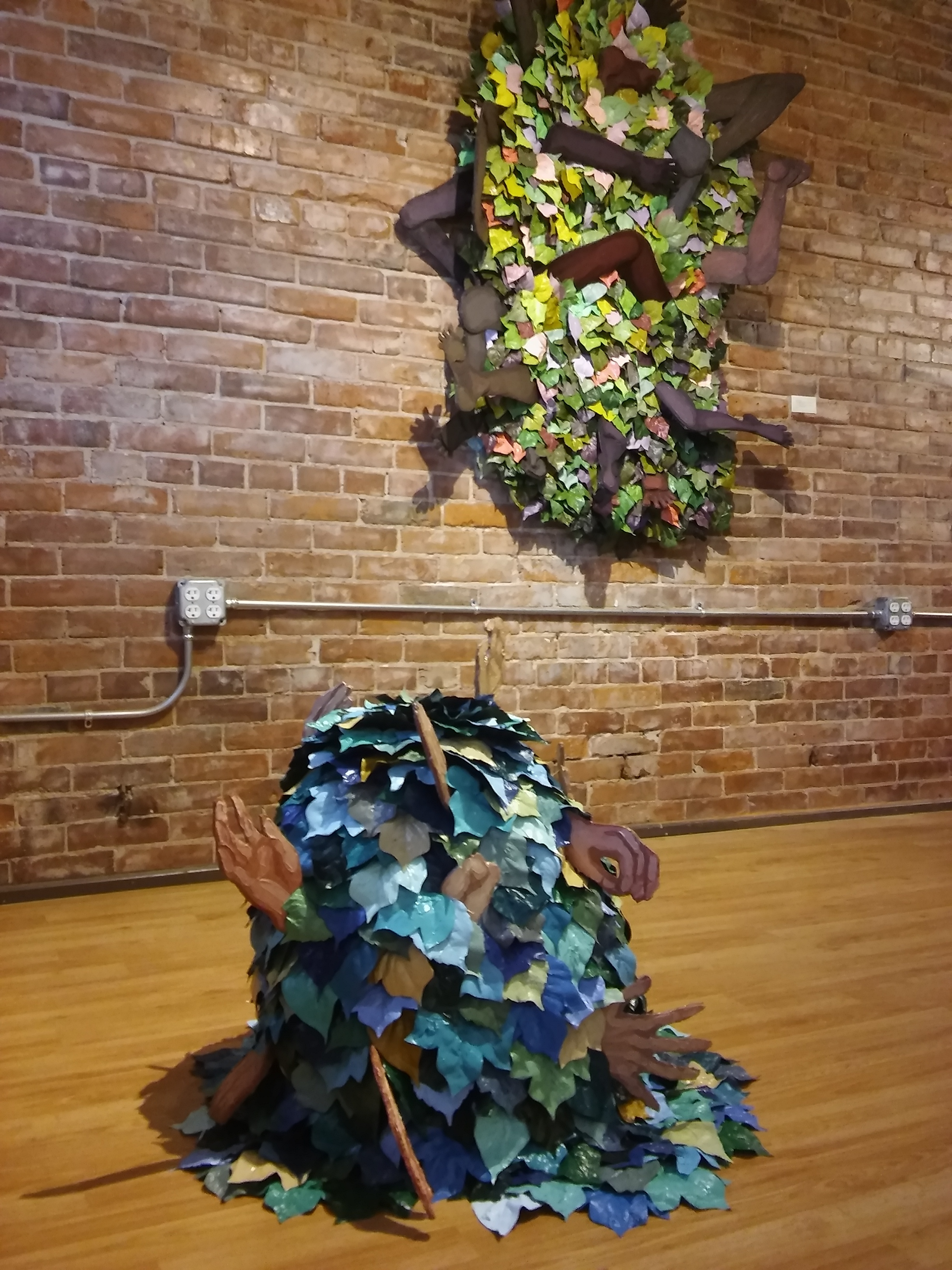 Peanut Gallery is a new collaborative studio and exhibition space run by Kyle Choy, Madison Svendgard, Alex Bridgman, and Brian Andrew Coate. Located in the Parrish Studios in Downtown Lincoln Nebraska.
