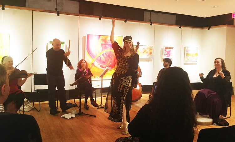 Light of the East  music ensemble CD release event