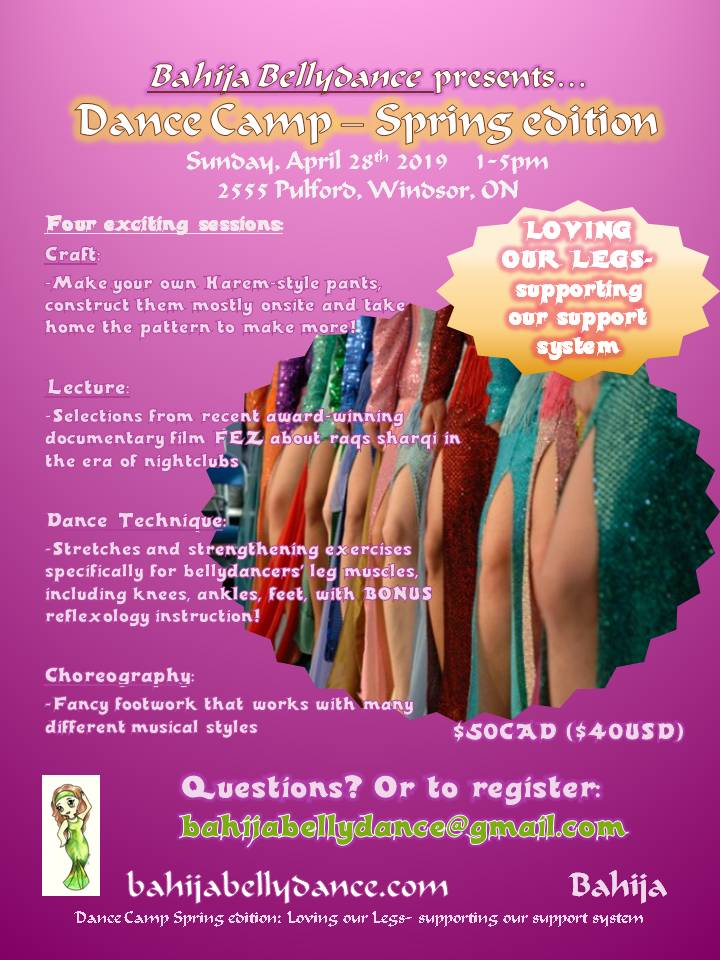 Come treat your legs to a great time! email to register.