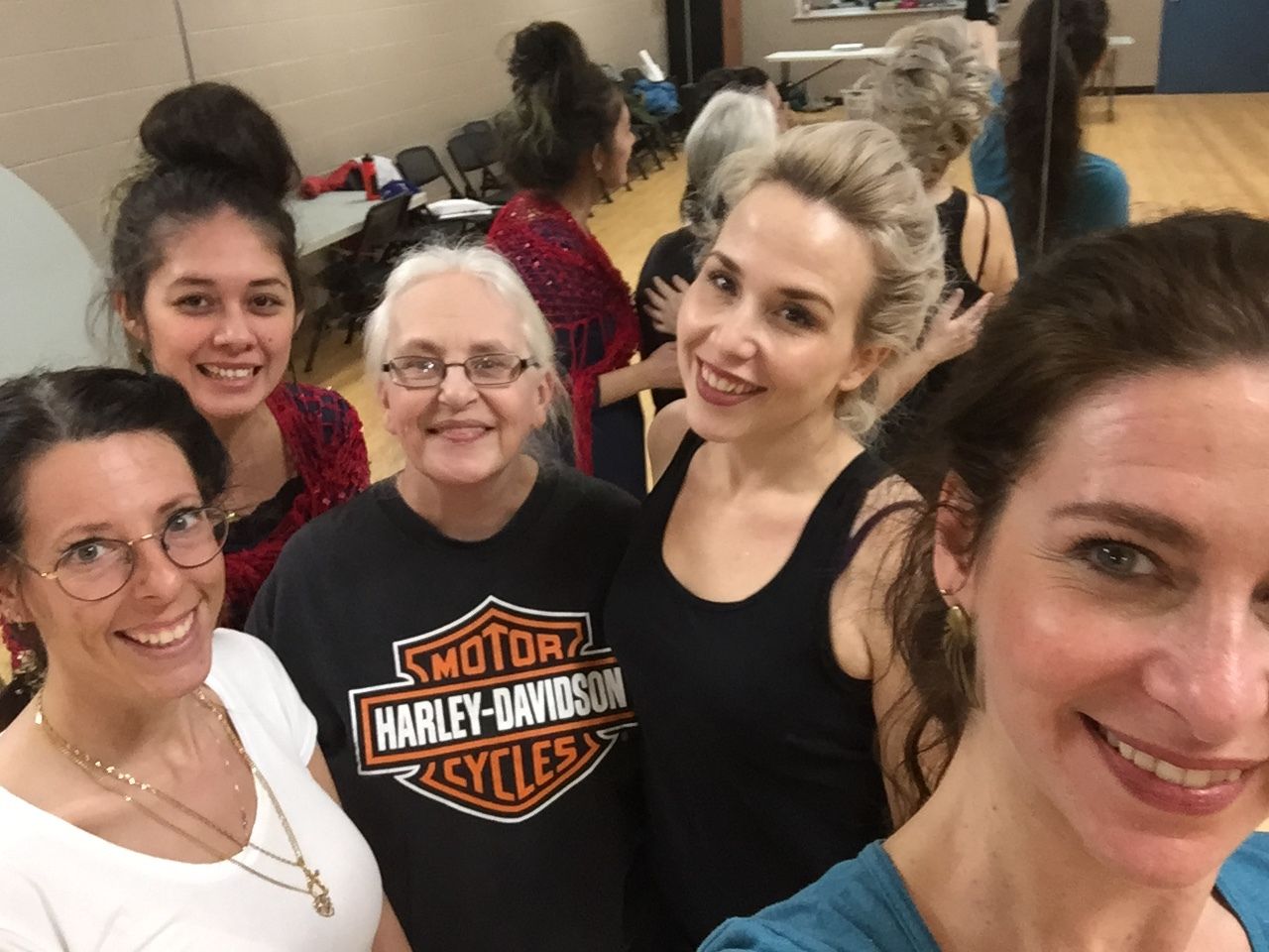 Dance classes are a great way to make friends!