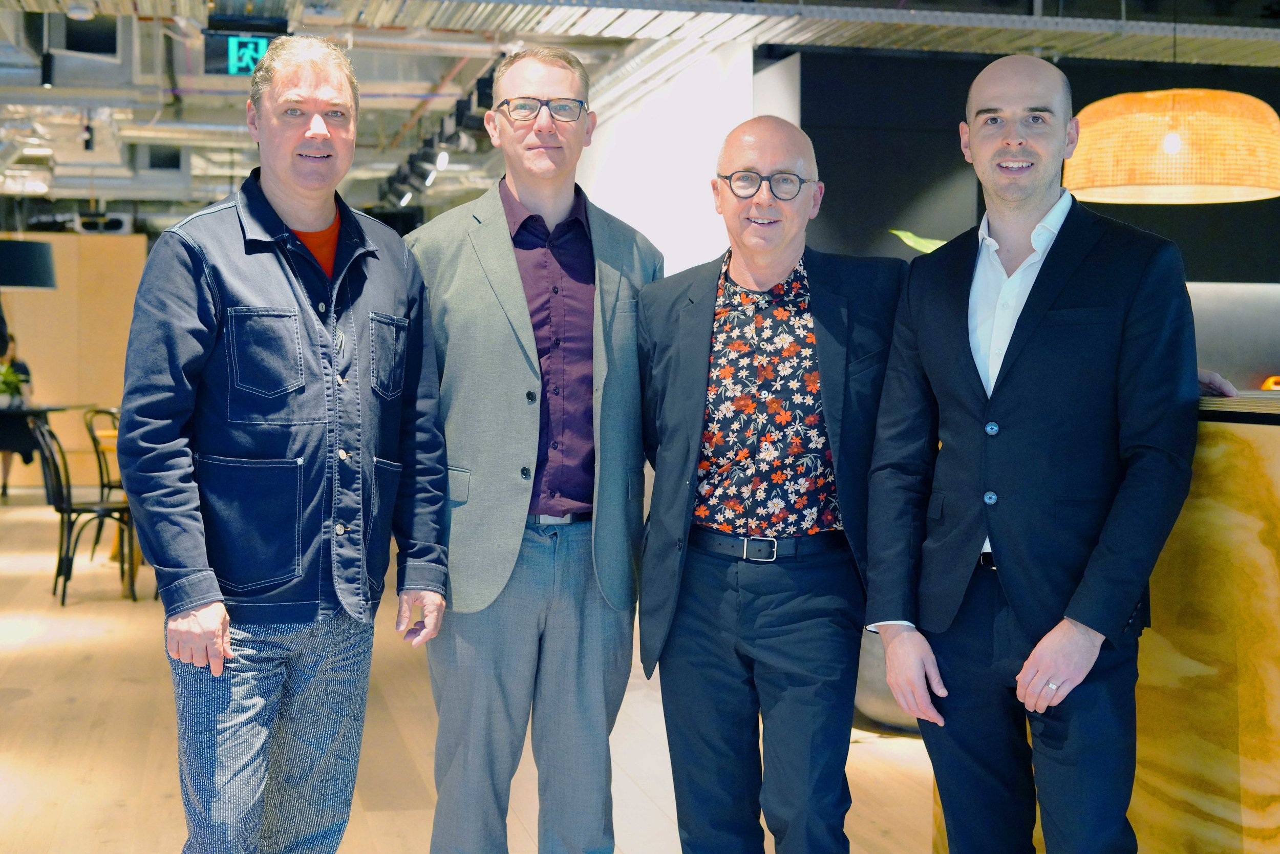 Futurespace Leadership Team (Left to Right), Gavin Harris, Jerad Tinnin, Stephen Minnett, Joseph Daly. Angela Ferguson (Absent)