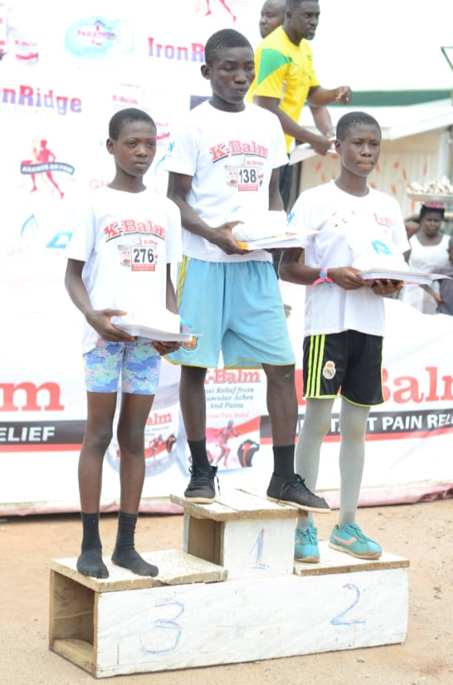 IronRidge sponsored the local marathon challenge in the Asante Akeym district Ashanti Region in Ghana - empowering youth through sport is a huge part of the CSR programme in place.