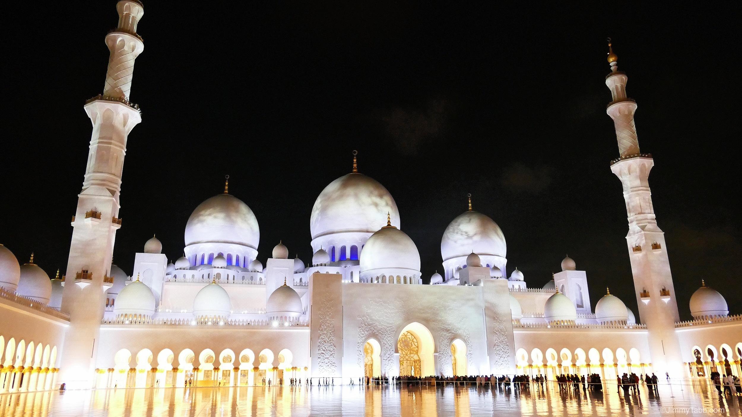 Sheikh Zayed Grand Mosque, Abu Dhabi, UAE (2015)