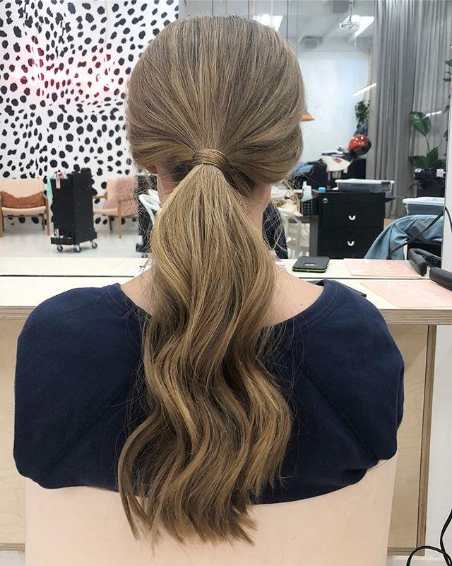 ponytail goals ✨