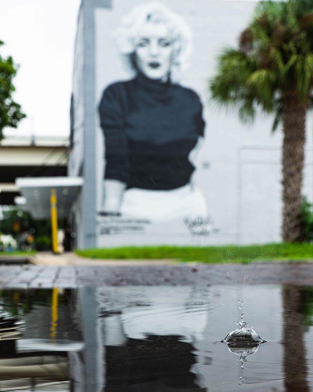 Finish this caption: Rain drop... #puddlegram