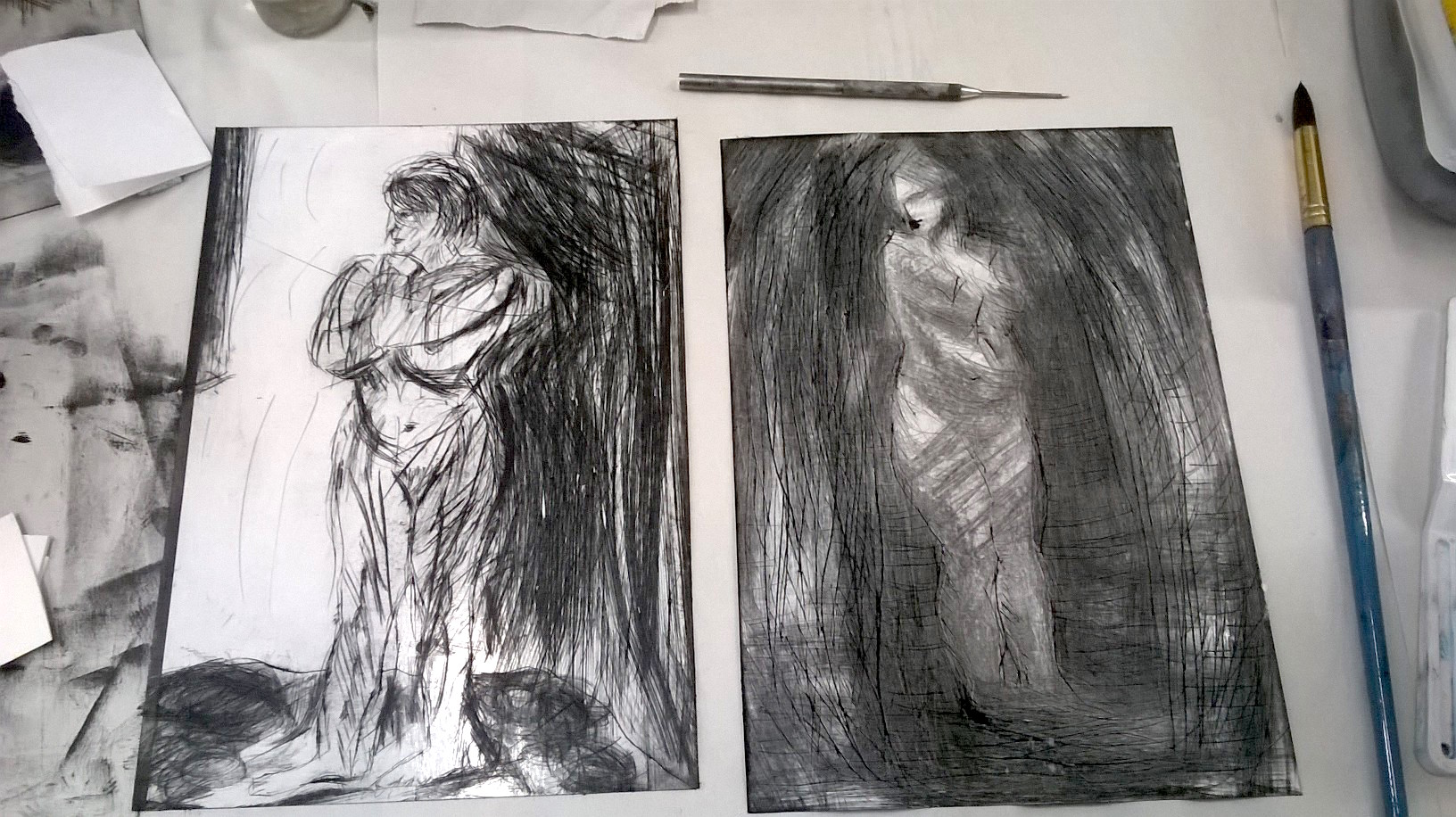 2. printmaking with figure David and Hanneke.jpg