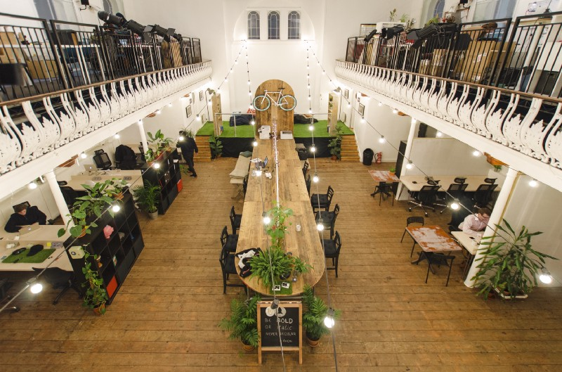 Launch22 2.0— a converted Baptist church in KX