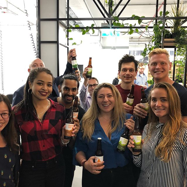 And we are officially #launched!  Thank you so much to everyone that came down and made it such a special night 🙌🏻 Special thanks to @launch22 alumni - @ravenhillbrewery & @deqafoods for providing food and drink! #launch22poplar