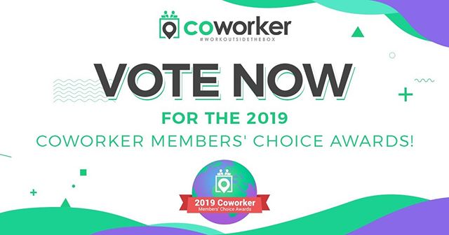 We have been nominated for the Coworker Member Choice Award again! We are hoping to keep this award for another year and YOU can help; vote at: https://buff.ly/2Kdb64u