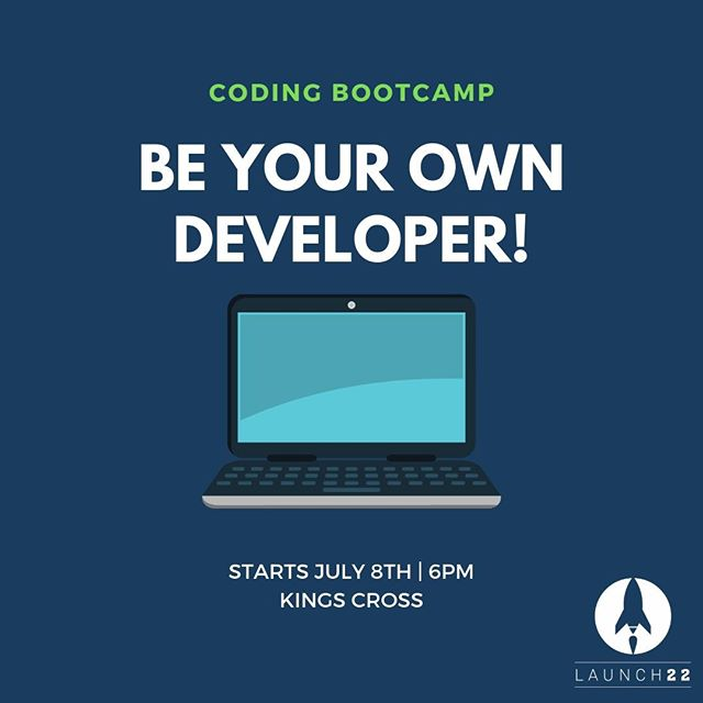 Morning all! The event you've all been waiting for is finally here!🌟 Our coding bootcamp begins tonight at 6pm in Kings Cross. Make sure to use semicolons and not tabs 😉More info: https://buff.ly/2WxFnR1