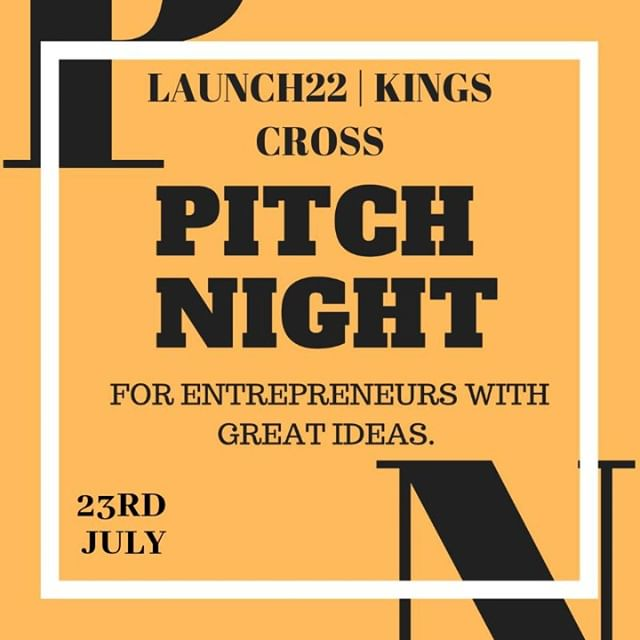 Innovation. Ideas. Inspiration. All that and more right at our Pitch Night. Just 1 week away!⠀ ⠀ 👉More info: https://buff.ly/2Xw8FB2