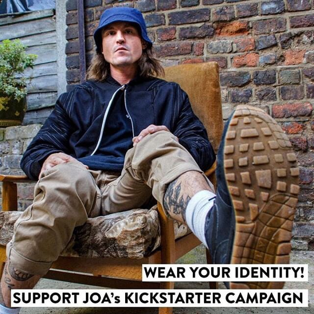 JOA is an outerwear brand based in East London. They take clothes their #local charity shops can't sell, cut them up, and #remake them into #jackets, 30% of their profits goes back to the same charity shop. #socialenterprise #sustainablefashion @joa.fashionmadelocal1 Support JOA's #Kickstarter campaign! https://www.kickstarter.com/projects/joajackets/joa-sustainable-one-off-jackets-made-in-east-london