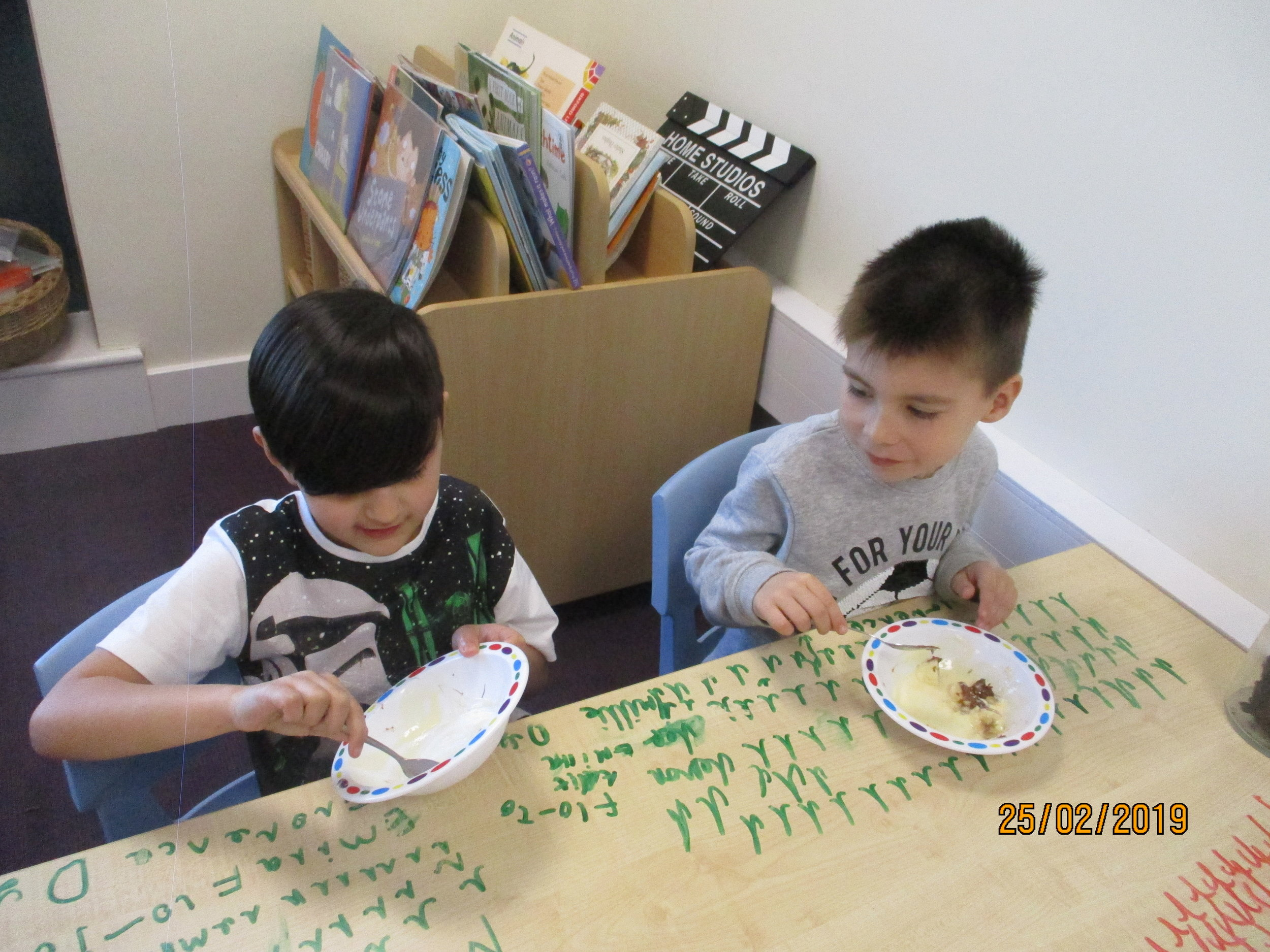 Cooking, eating and chatting together is very important to us-'Learn Together to Live Together'