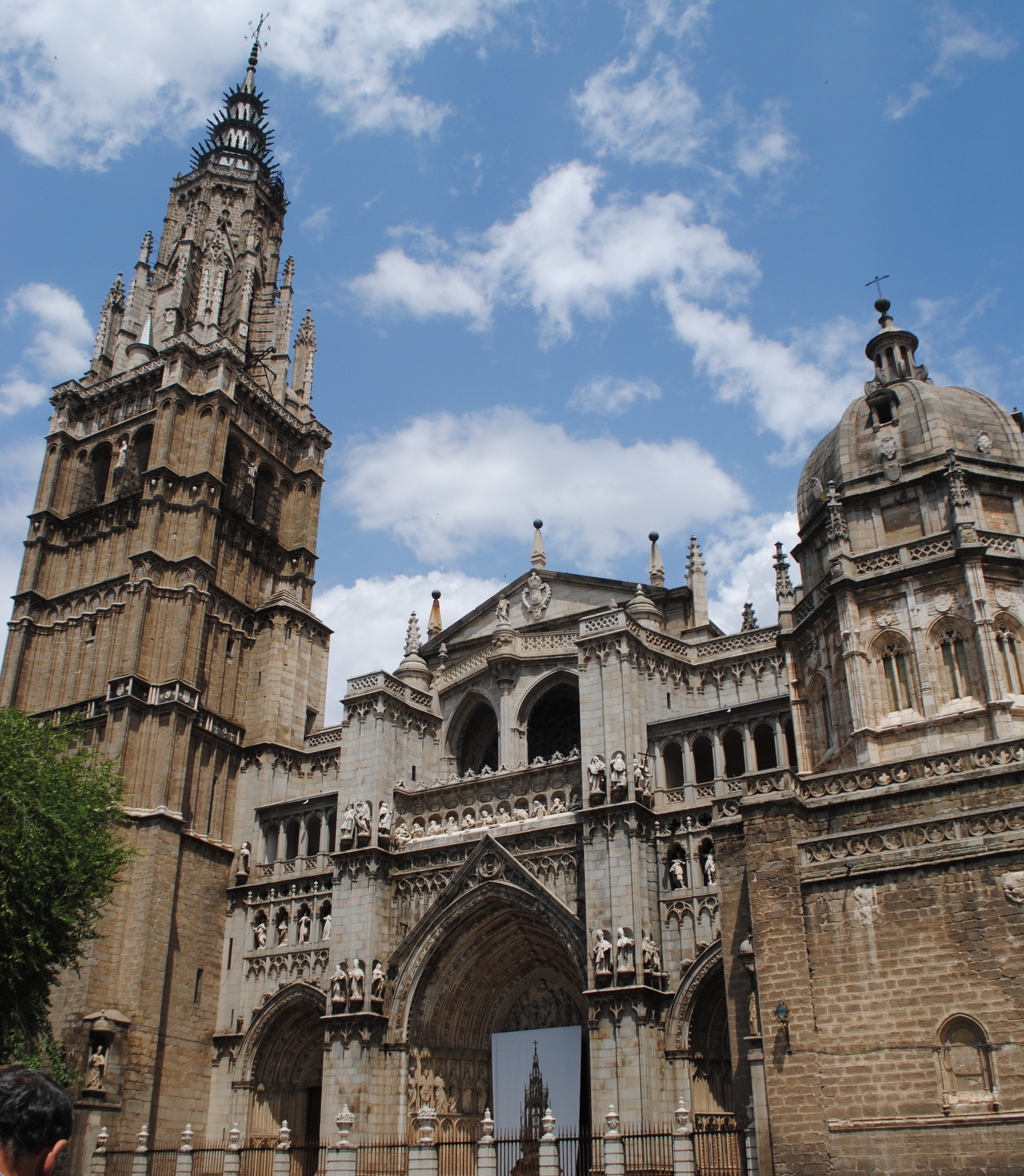 Cathedral in Toledo, Spain