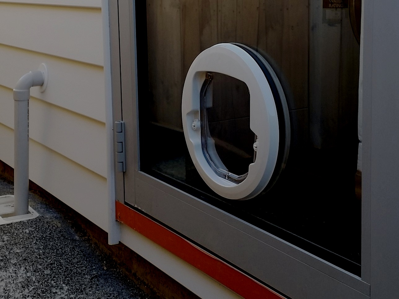 cat doors - standard, microchip or app control