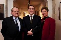 The 2011 Medal Winner with Maureen Foulkes-Hajdu and Lord Waltonof Detchant