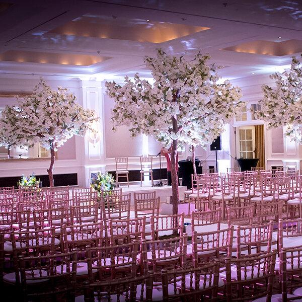 Cherry Blossom Trees Silk Flowers Decortree