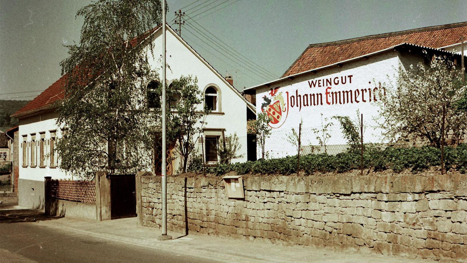 Historische Wurzeln - das Weingut 1960