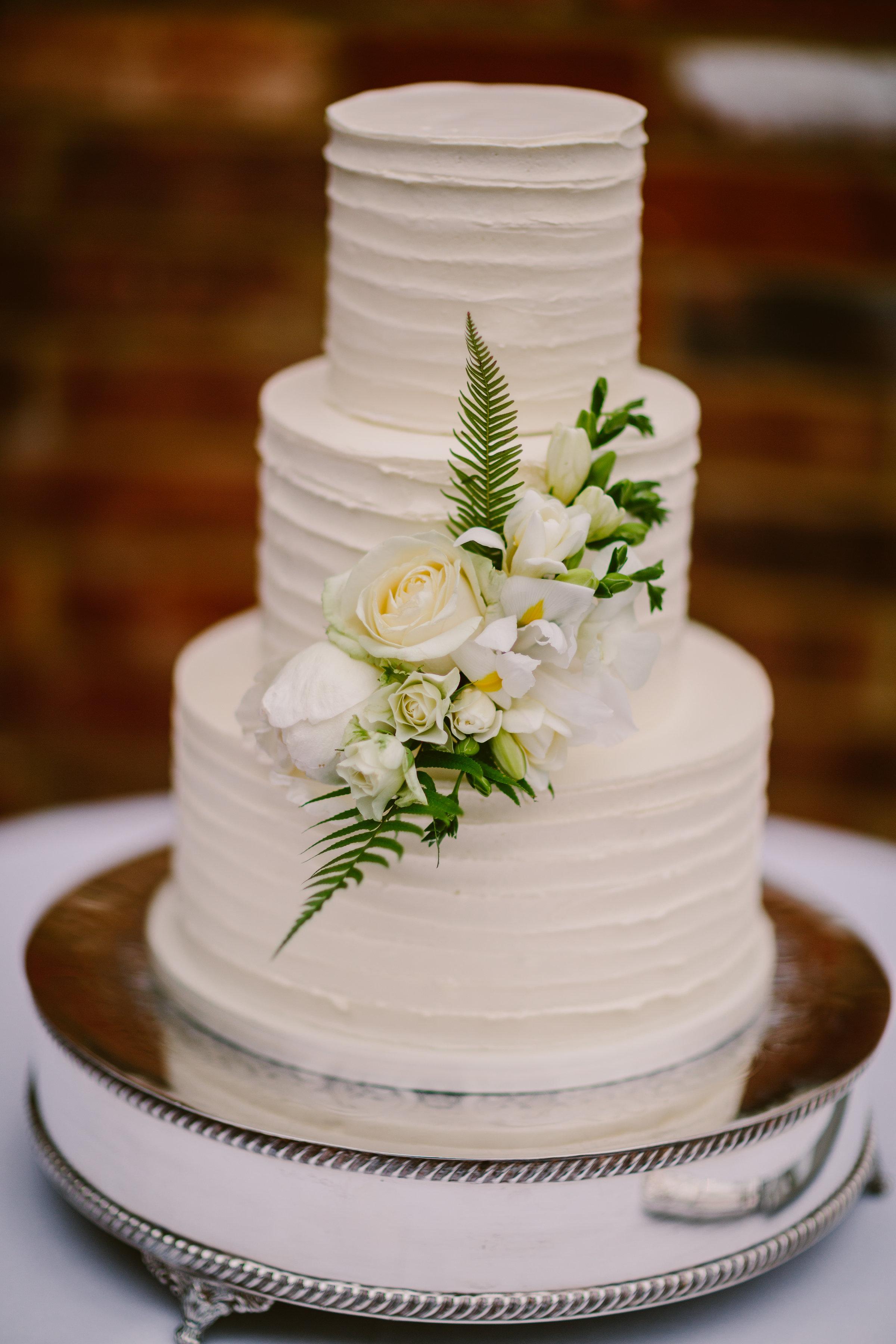 cake flowers white tropical