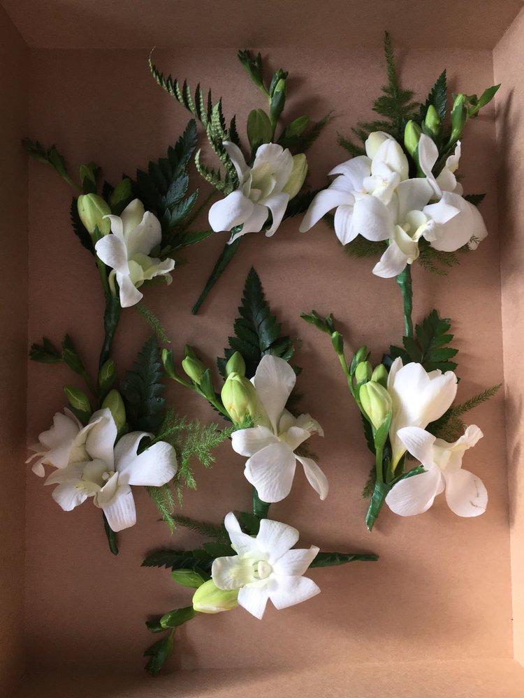 orchid buttonholes