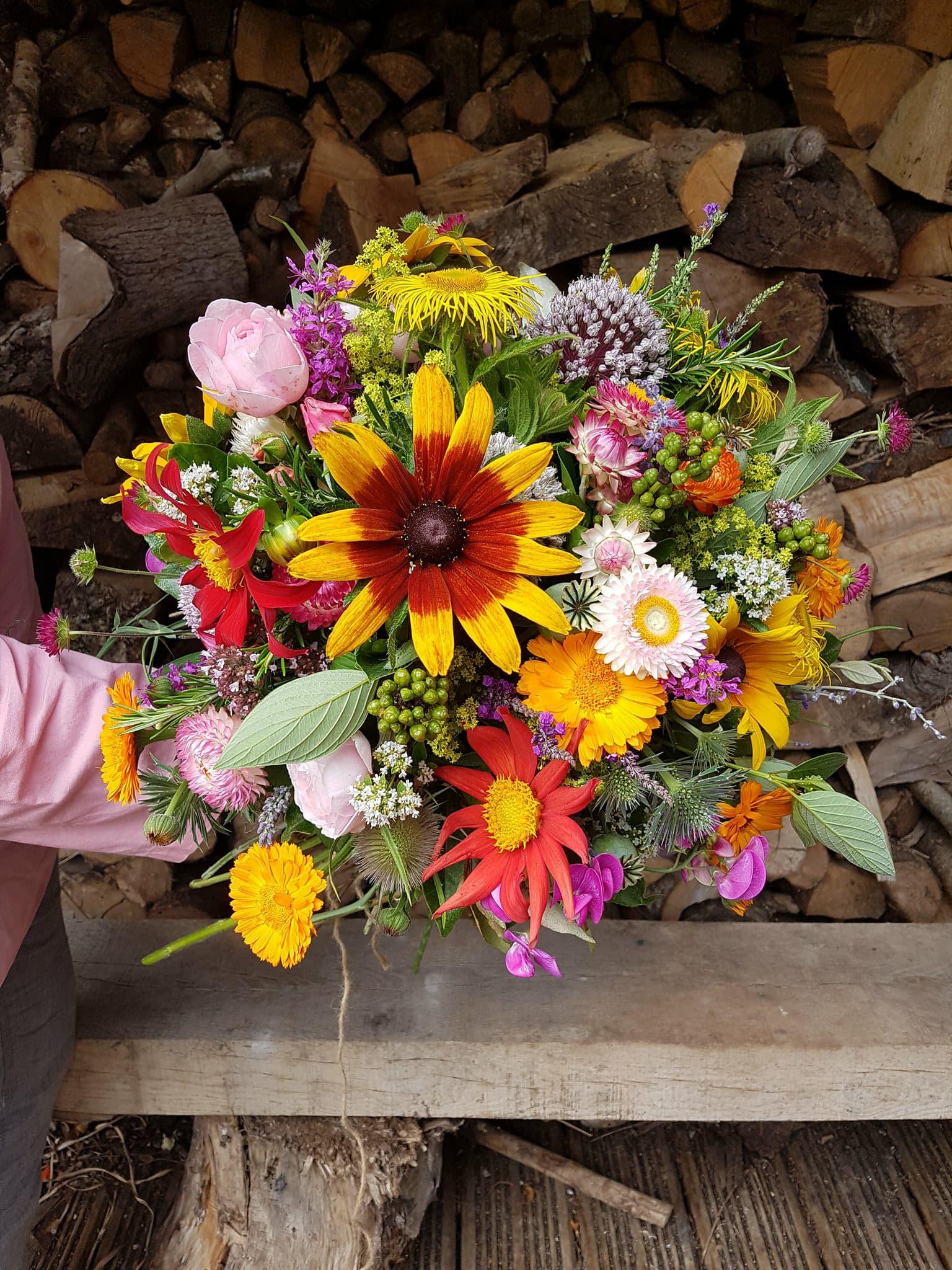 home grown bouquet