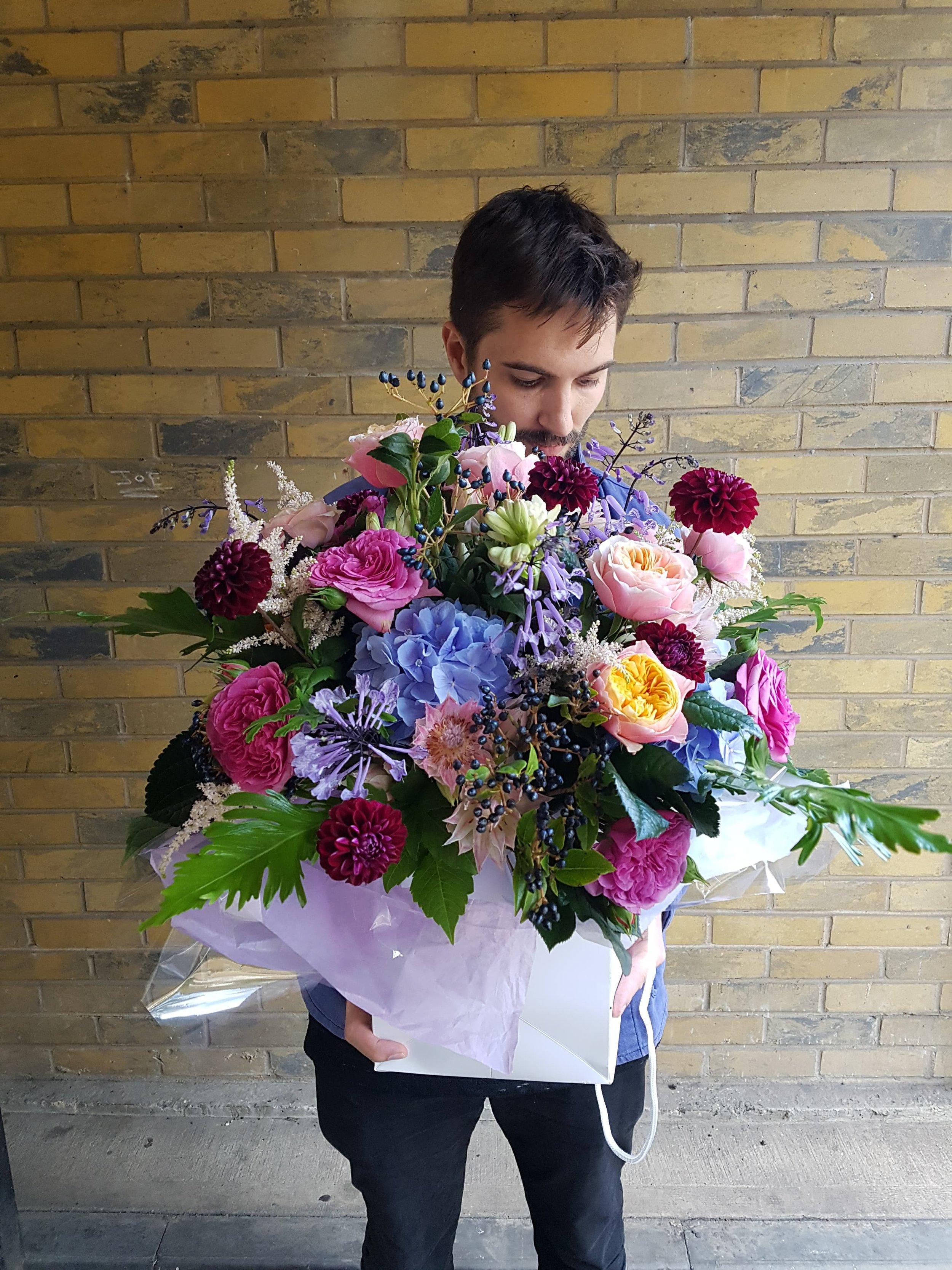 bouquet delivery london