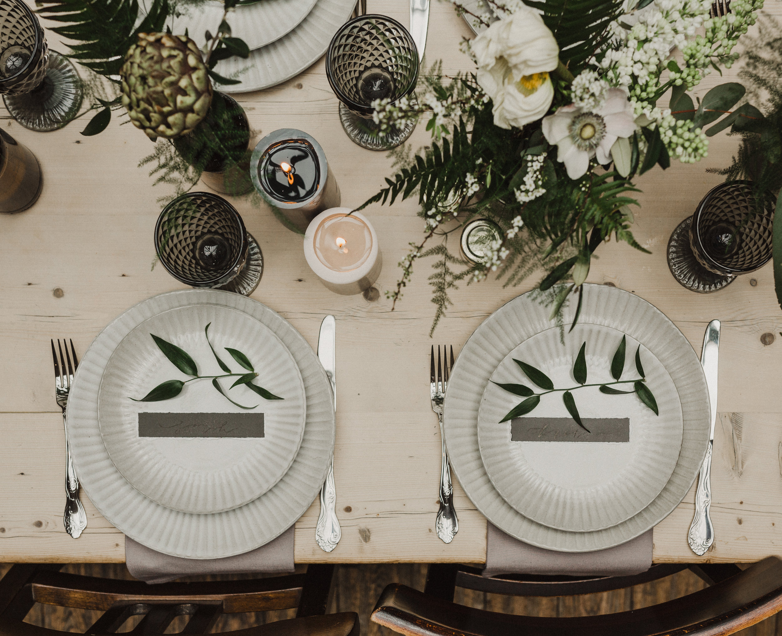 table setting wedding london florist sula bailie