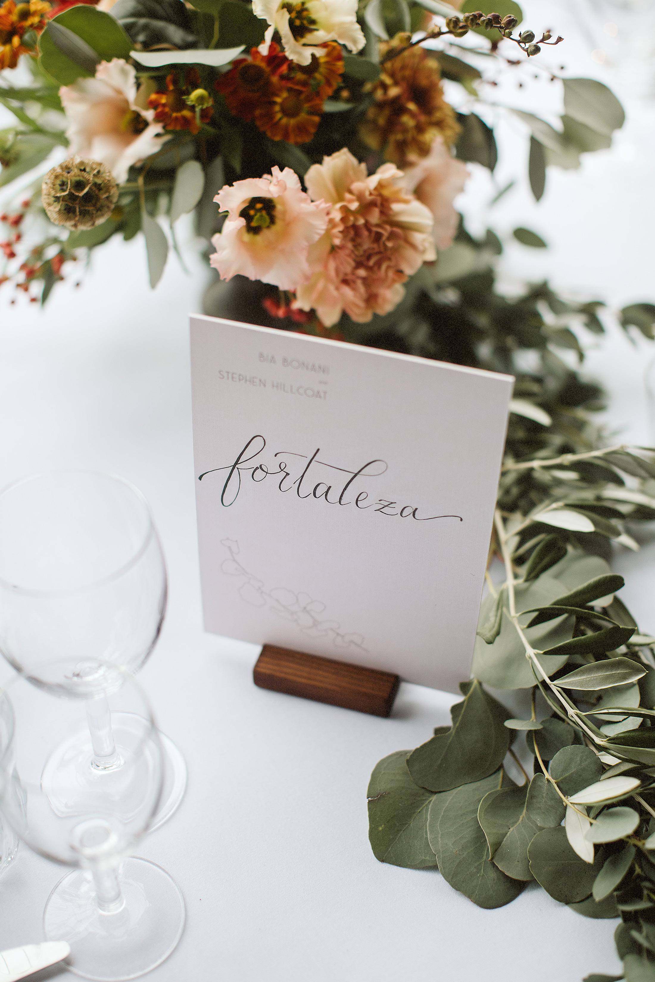 table flowers wedding reception sulaflowers