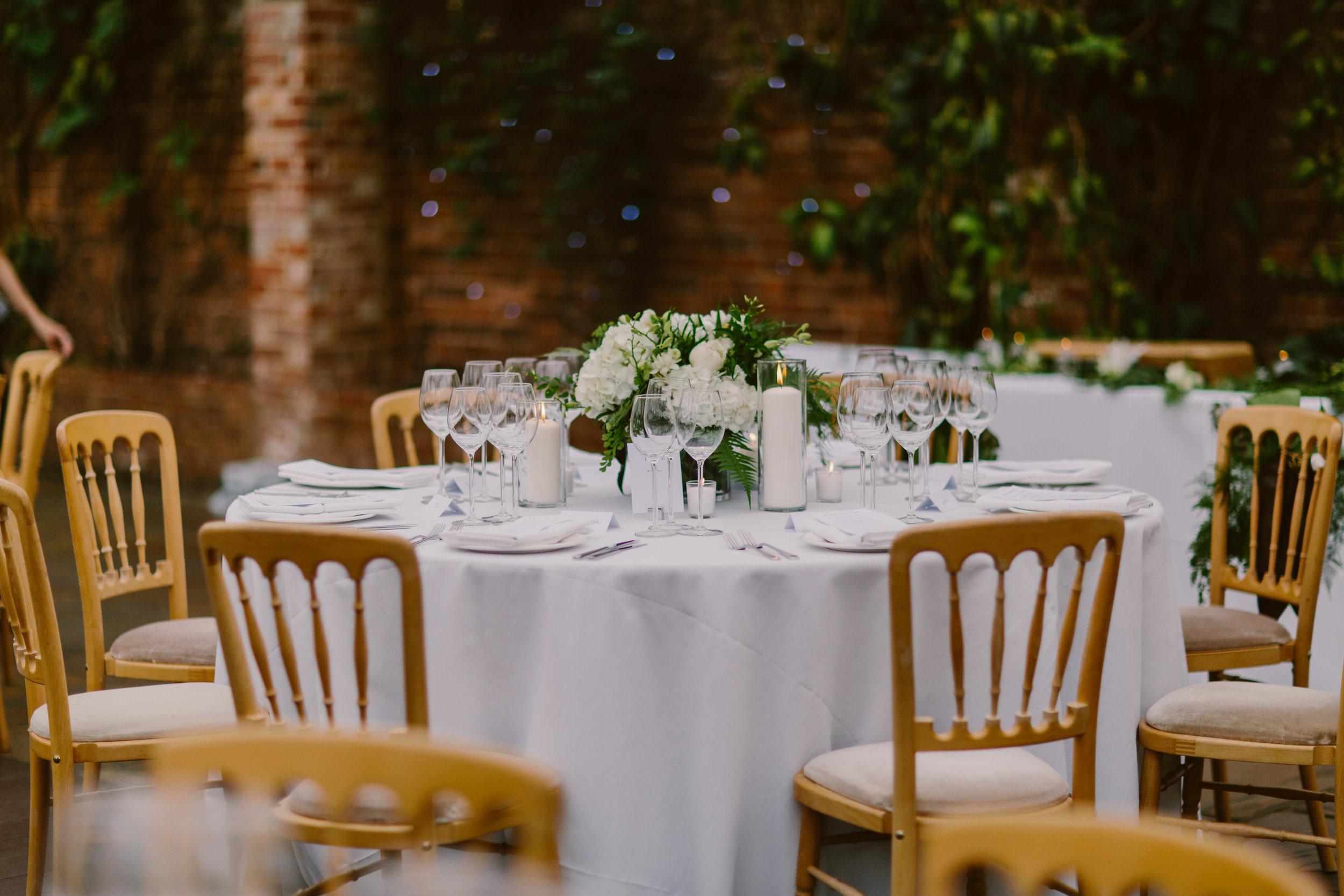 Nice bunch ethical floral design studio flower garden by Sula Northbrook Park wedding table arrangement