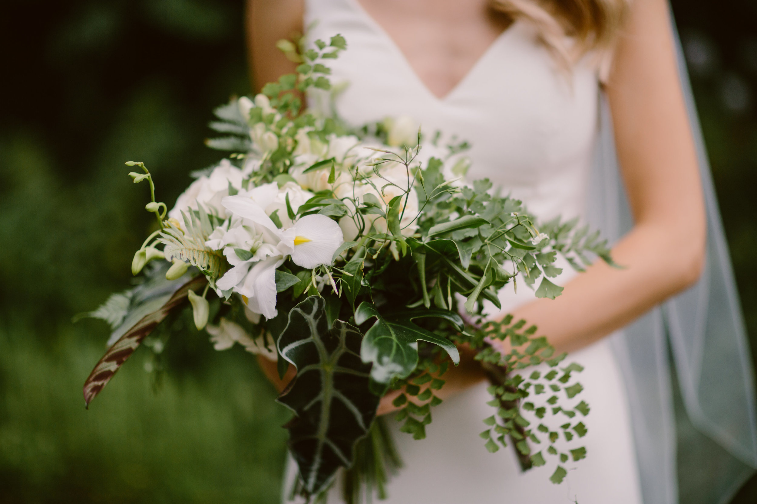 Nice bunch ethical floral design studio flower garden by Sula Northbrook Park wedding bouquet