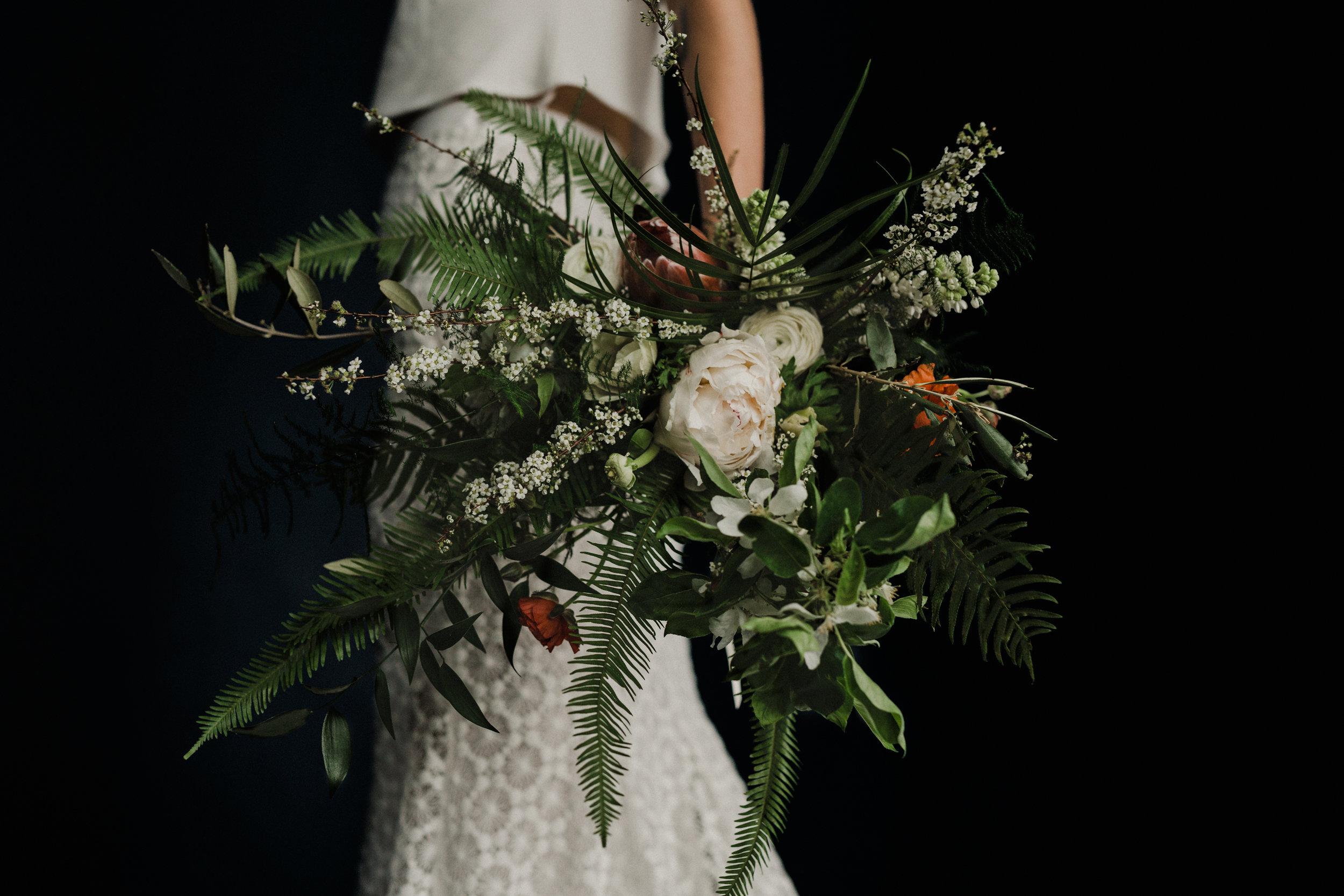 TufnelL Park Tavern - Light in the dark rock 'n' roll bride shoot