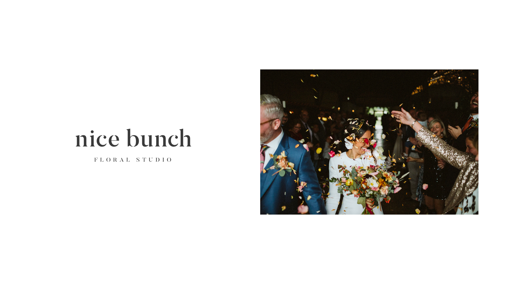 Nicebunch flowers sula stonebarn cotswolds venue ethical british luxury confetti bouquet buttonhole