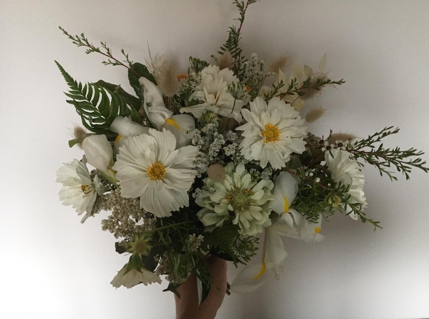 Nice Bunch Ethical floral design studio flower garden by Sula British luxury Mildmay Club bouquet wedding