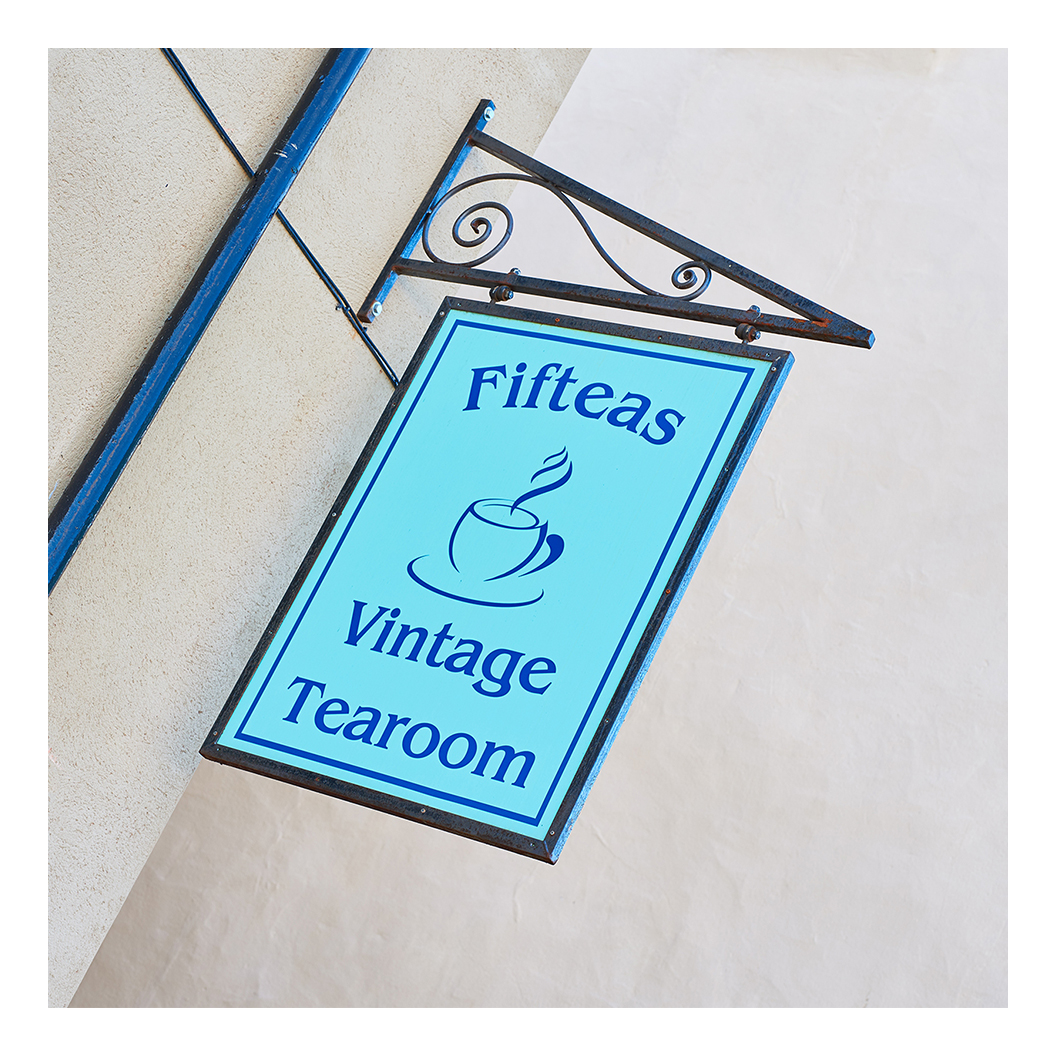 Fifteas Vintage Tearoom, 9 Market Place, Bishop Auckland