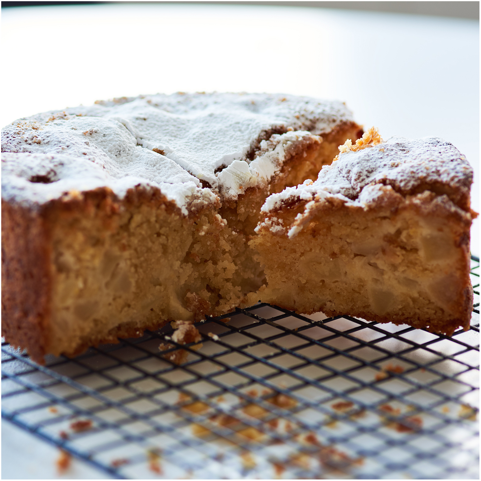Crumbly, light, super-sweet, and delicious!
