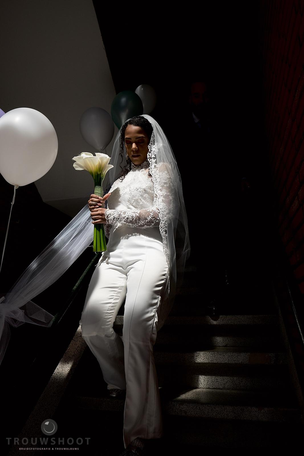 de bruilfot van Frank en Jennifer in Den Haag
