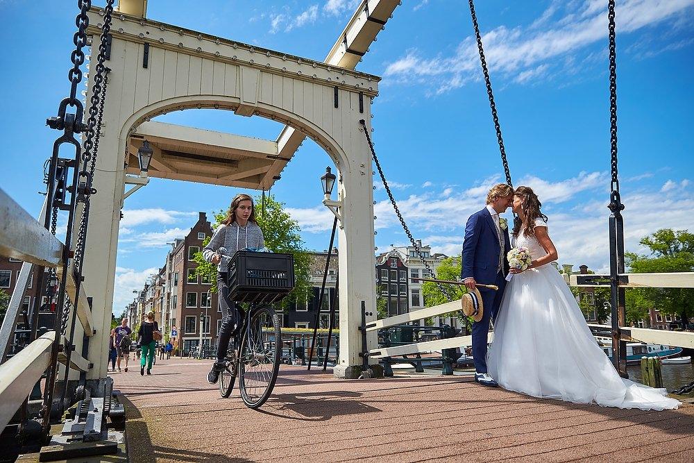 Bruidsfotograaf in Amsterdam Stefan Segers