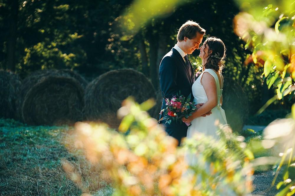 trouwshoot bruidsfotografie in het park